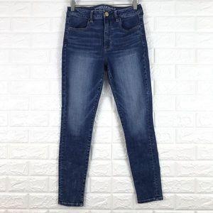 American Eagle Jeans High Rise Jegging 8 Short